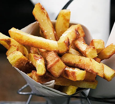 Home cooked chips recipe
