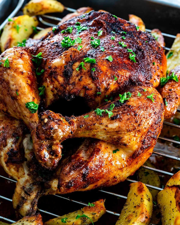 Roast-Chicken-with-Chimichurri-Recipe